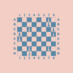 The various chess position