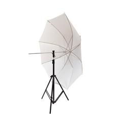 Studio light equipment umbrella isolated