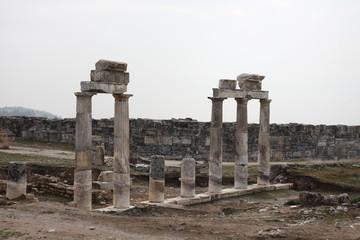 ruins of ancient  Hierapolis