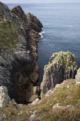 Cap Sizun Bretagne Pointe du Raz Steilküste