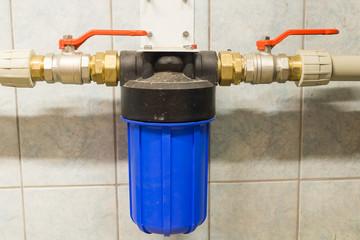 water filter.