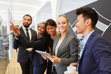 Start-Up Team in einem Business Meeting