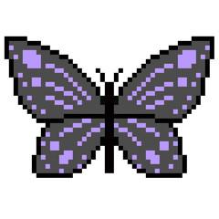 pixel art butterfly