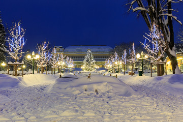 Kurpark Bad Ischl im Winter