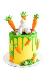 Easter cake isolated
