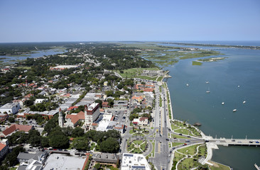 St. Augustine Aerial View