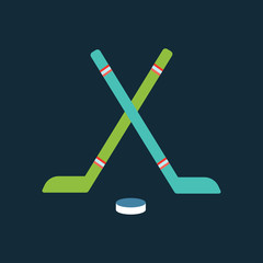 Sport team hockey badge vector illustration isolated team emblem symbol design sign icon label tournament competition champion club game ice win