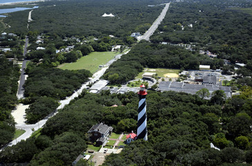 St Augustine Lighthouse - Aerial View