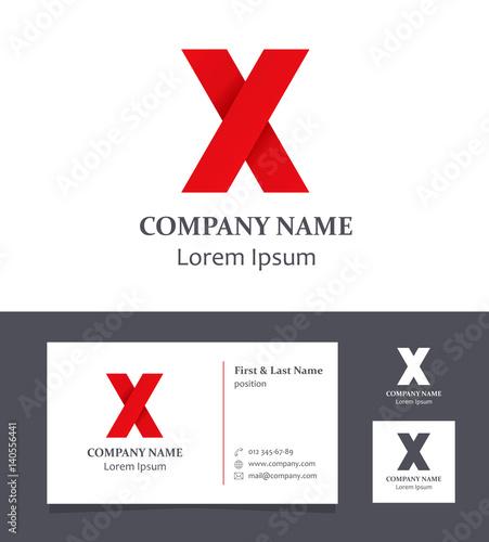 Logo Design Letter X Logo