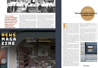 News Magazine Layout