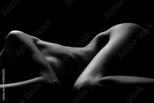 Sexy nudity in black and white