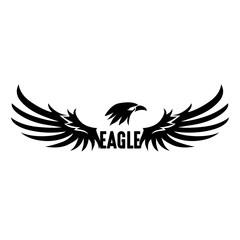 Black Eagle Logo, Vector, Illustration