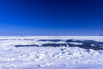 Fototapete - オホーツク海の流氷