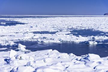 Wall Mural - オホーツク海の流氷