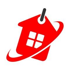 sell home logo vector.