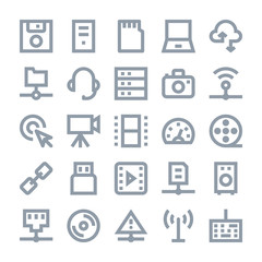 Network Technology Vector Icons 2