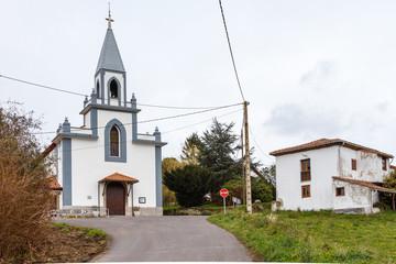Iglesia de Santa María Magdalena, Villafría, Concejo de Pravia, Asturias.