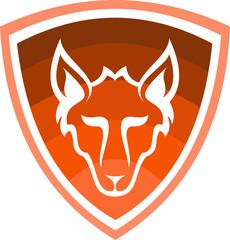 logo animal fox protection