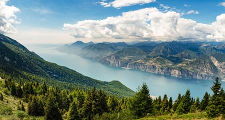 Panorama Gardasee Panorama Lake Garda