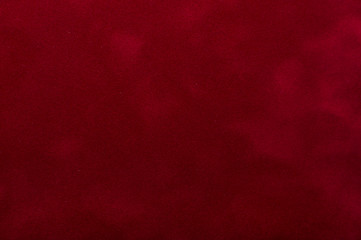 Red velvet textile as background