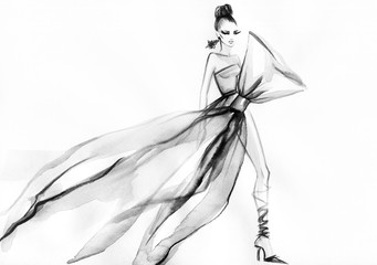 Ilustracja mody