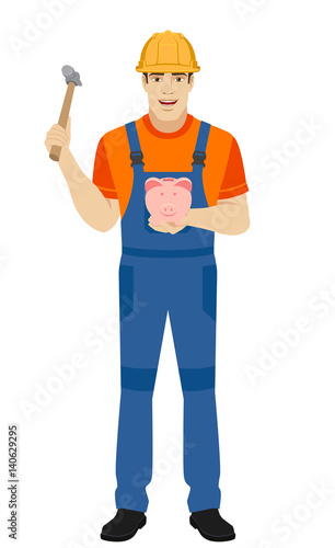 how to break a piggy bank