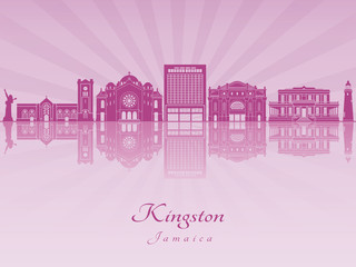 Kingston in purple radiant orchid