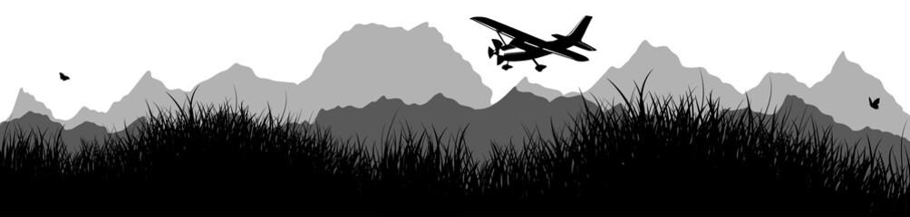 Panorama | Flugzeug