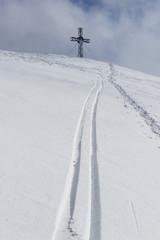 cross on the summit
