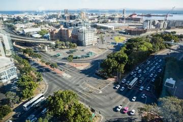 Crossroads in a city
