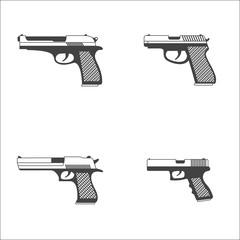 Gun icons