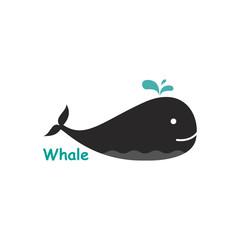 Whale logo.