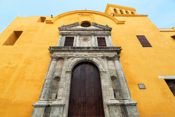 Fototapete - Santo Domingo Church View