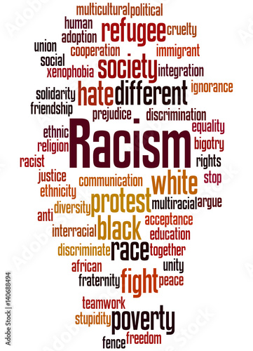 word racism Racism is a belief that one race is superior to the other or the practice of treating a person or group of people differently on the basis of their race.