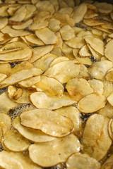 Frying Potato Chips