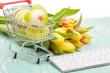Easter shopping.