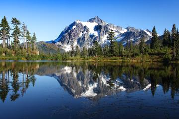 Mirror Lake and Mount Baker