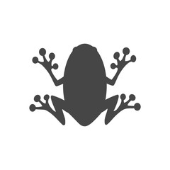 Frog icon logo - Illustration