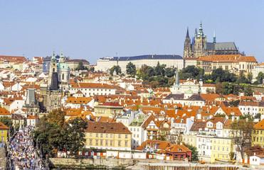 Prag, Burgberg Hradschin mit Veitsdom, Tschechische Republik
