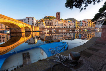 Bosa, town and comune in the province of Oristano, Sardinia region, Italy