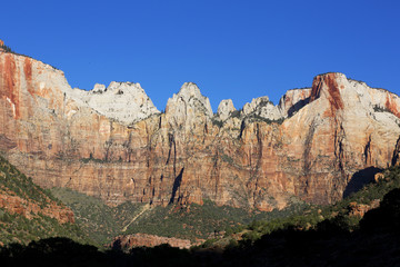 Court of the Patriarchs, Zion National Park, Utah
