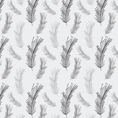 rustic feathers background icon