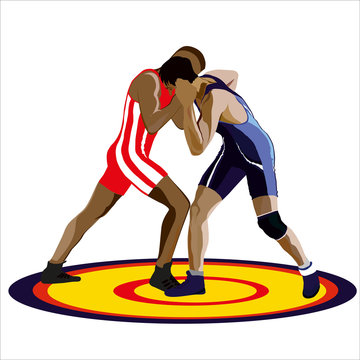 Illustration Greco -rimskoy fight
