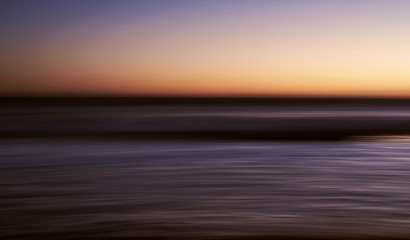 Abstract smooth lines and sunset colors