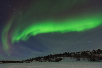 Northern Lights, Yellowknife, Northwest Territories, Canada