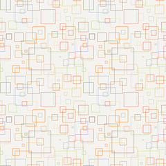 Seamless pattern with squares.