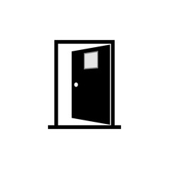 Door open vector icon