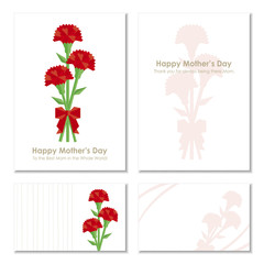 4 Cards of  Mother's Day