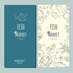 Fish market banner