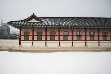 EXterior of a palace